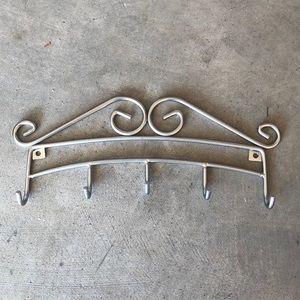 Silver Jewelry Display Holder Organizer